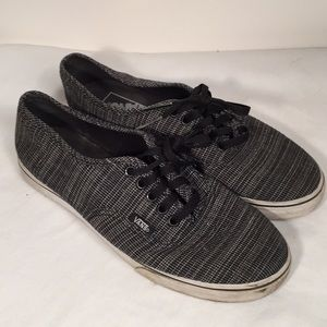 Vans Shoes Multi Sex Men 5.5 Women 7 Black